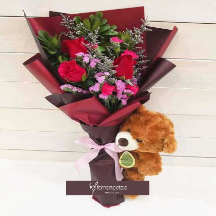 Beautiful Rose Bouquet: Same Day Delivery Gifts