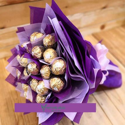 Classic Chocolate Bouquet: Last Minute Gift Delivery