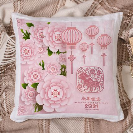 New Year Wishes With Blossoms: Chinese New Year Gifts