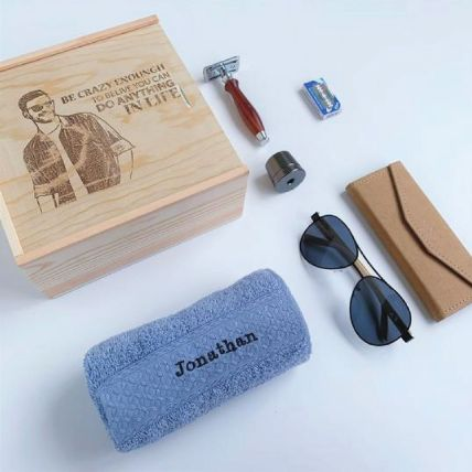 Personalised Gift Set For Him: Thank You Gifts