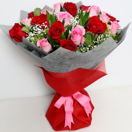 Premium Mixed Rose Bouquet: Flowers  Malaysia