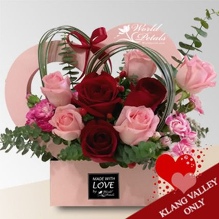 Cute Floral Arrangement: Same Day Flower Delivery Malaysia