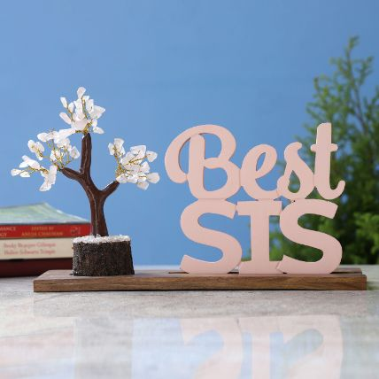Best Sis Table Top and Rose Quartz Wish Tree