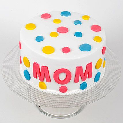 Colourful Mothers Day Cake Half Kg