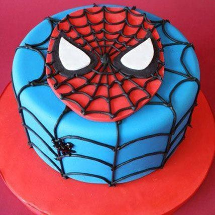 Just For You Spiderman Cake 1.5Kg