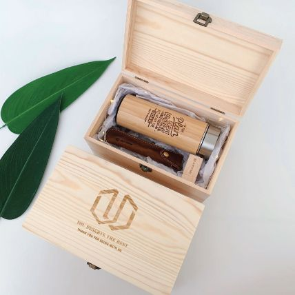 Personalised Office Gift Set With 32 Gb Usb