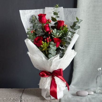 Red Rouge Bouquet Petite