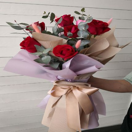 Youre Mine Roses Bouquet