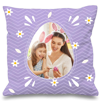 Personalised Easter Cushion