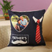Personalised Cushion For Working Dad