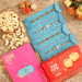 4 Pearl Studded Rakhis And Cashew With Soan Papdi