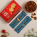 2 Devotional Kids Rakhis And Soan Papdi With Almonds