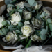 Beautifully Tied Black Roses Bouquet