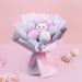 Beautifully Tied Ping Pong Bouquet