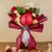 Blissful Mixed Roses And Ping Pong Bouquet