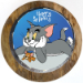 Classic Tom And Jerry Chocolate Photo Cake 2 Kg