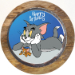 Classic Tom And Jerry Photo Cake Pineapple Half Kg